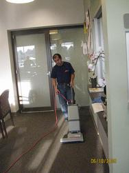 Deep Vacuuming for Commercial Offices