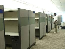 Cleaning Office Dividers / Office Panels