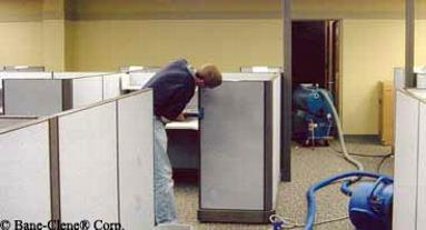Cleaning Office Cubicles